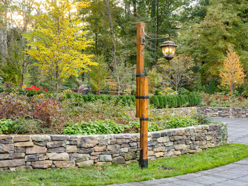 The Hitt garden in Fairfax County, Virginia. Landscape by Robert Hruby of Campion Hruby Landscape Architects; architecture by Scott Anderson of the Anderson Studio of Architecture and Design; interiors by Susan Stine of redteam strategies.